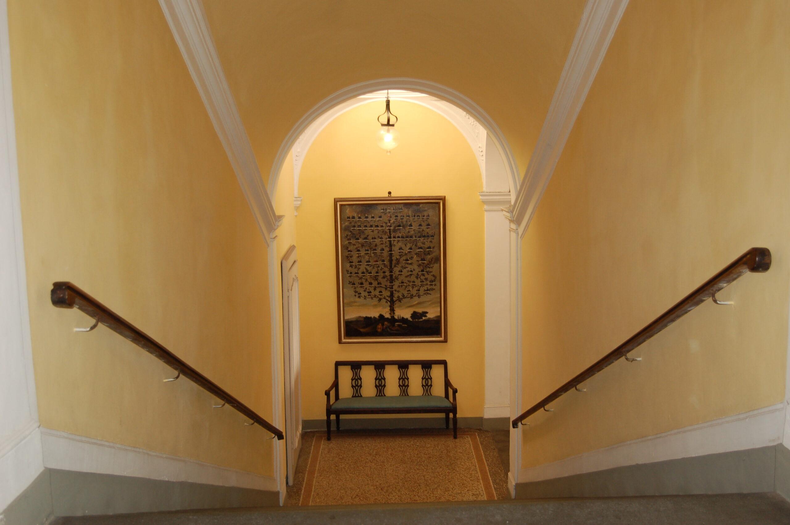 Scala accesso piano nobile